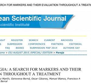 Nova publicação científica sobre Fibromialgia